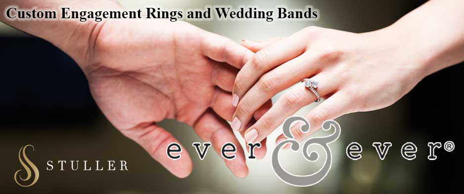 Ever and Ever Wedding Rings by Stuller
